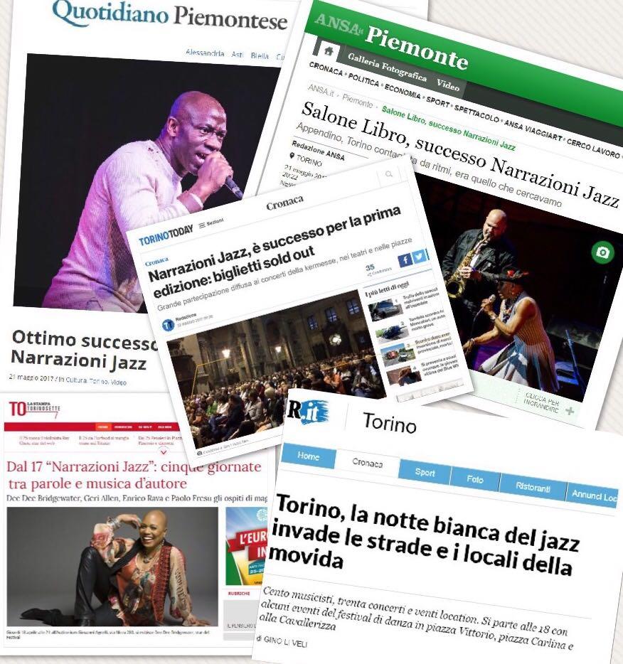 Titoli della rassegna stampa di Narrazioni Jazz