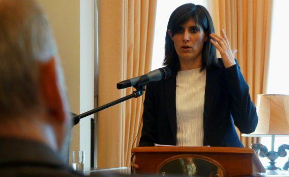 Chiara Appendino a Londra per parlare di innovazione e startup a Torino
