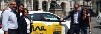WeTaxi: il nuovo servizio di taxi sharing made in Torino