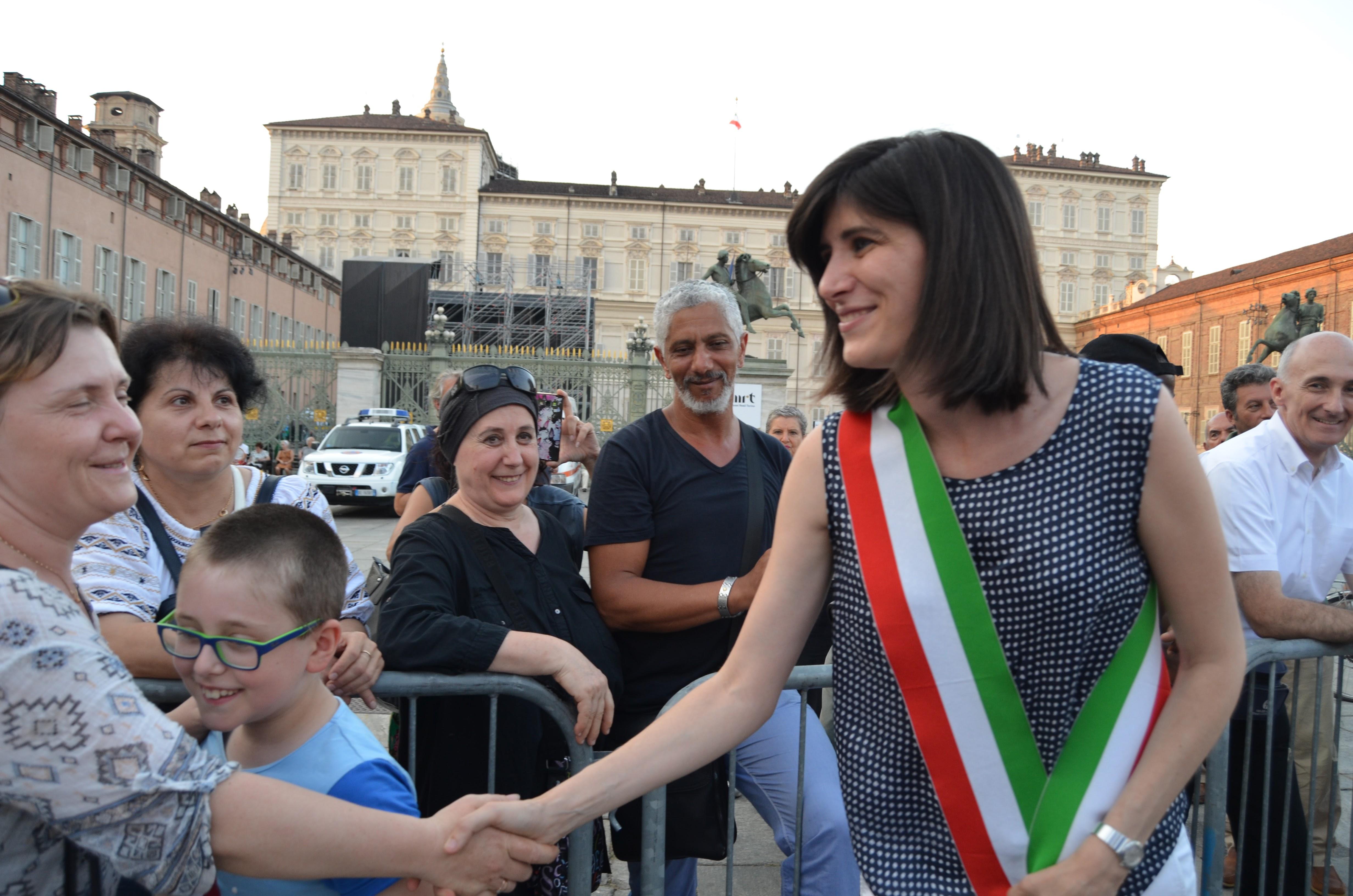 Chiara Appendino Sindaca a San Giovanni