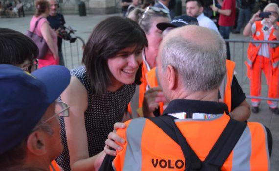 Chiara Appendino insieme ai cittadini: Torino non è in declino