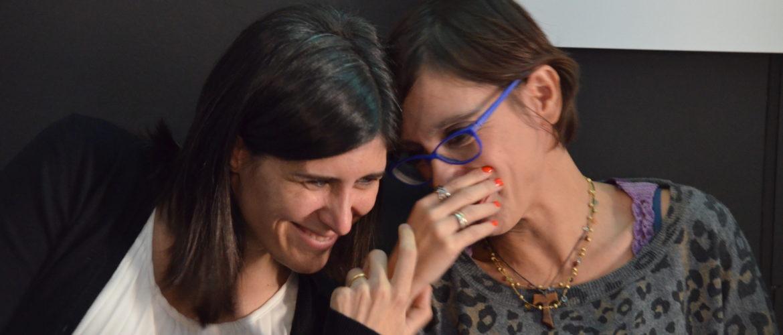 La sindaca Chiara Appendino parla con l'Assessora ai trasporti, Maria Lapietra