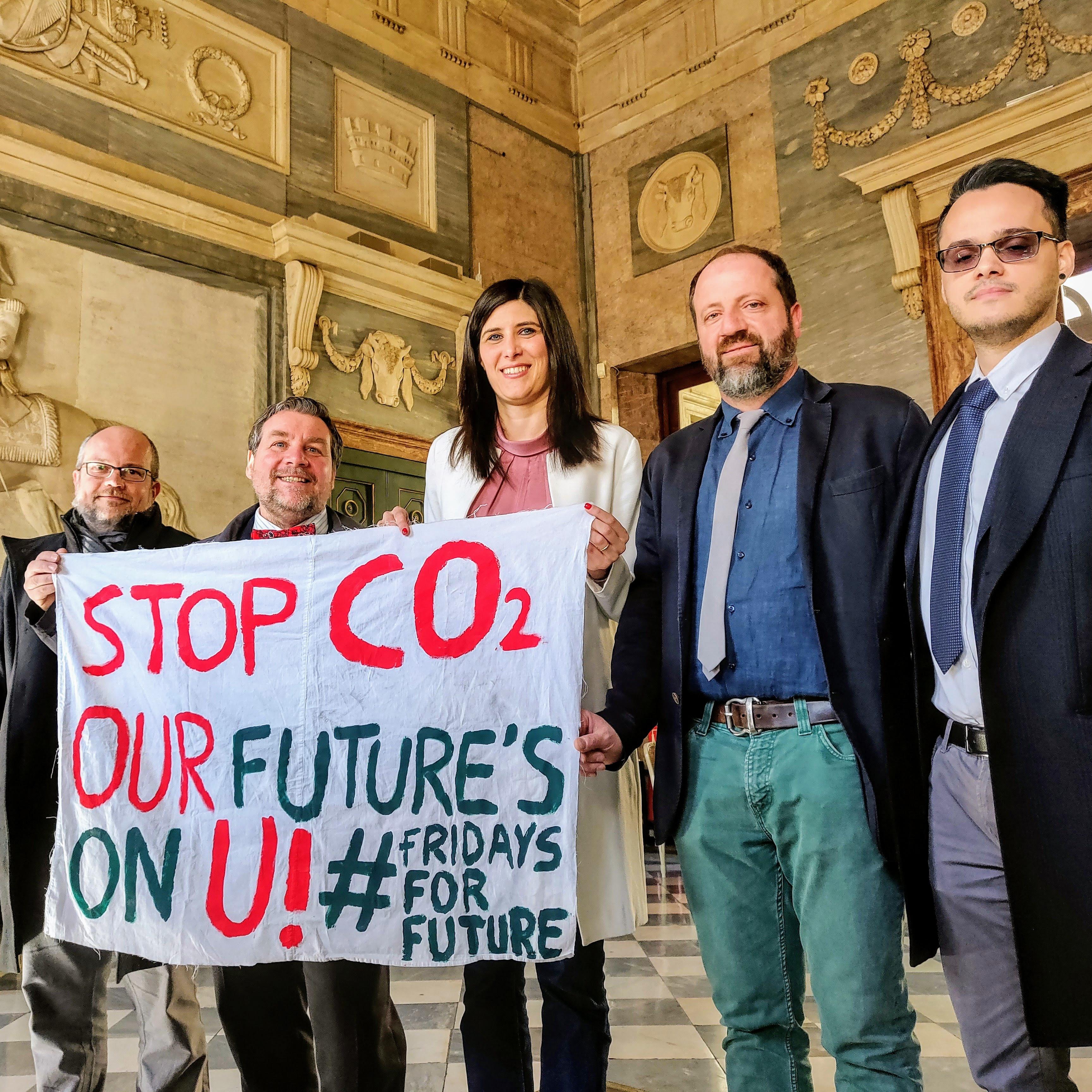 Fridays for Future, Appendino con Mercalli e consiglieri comunali