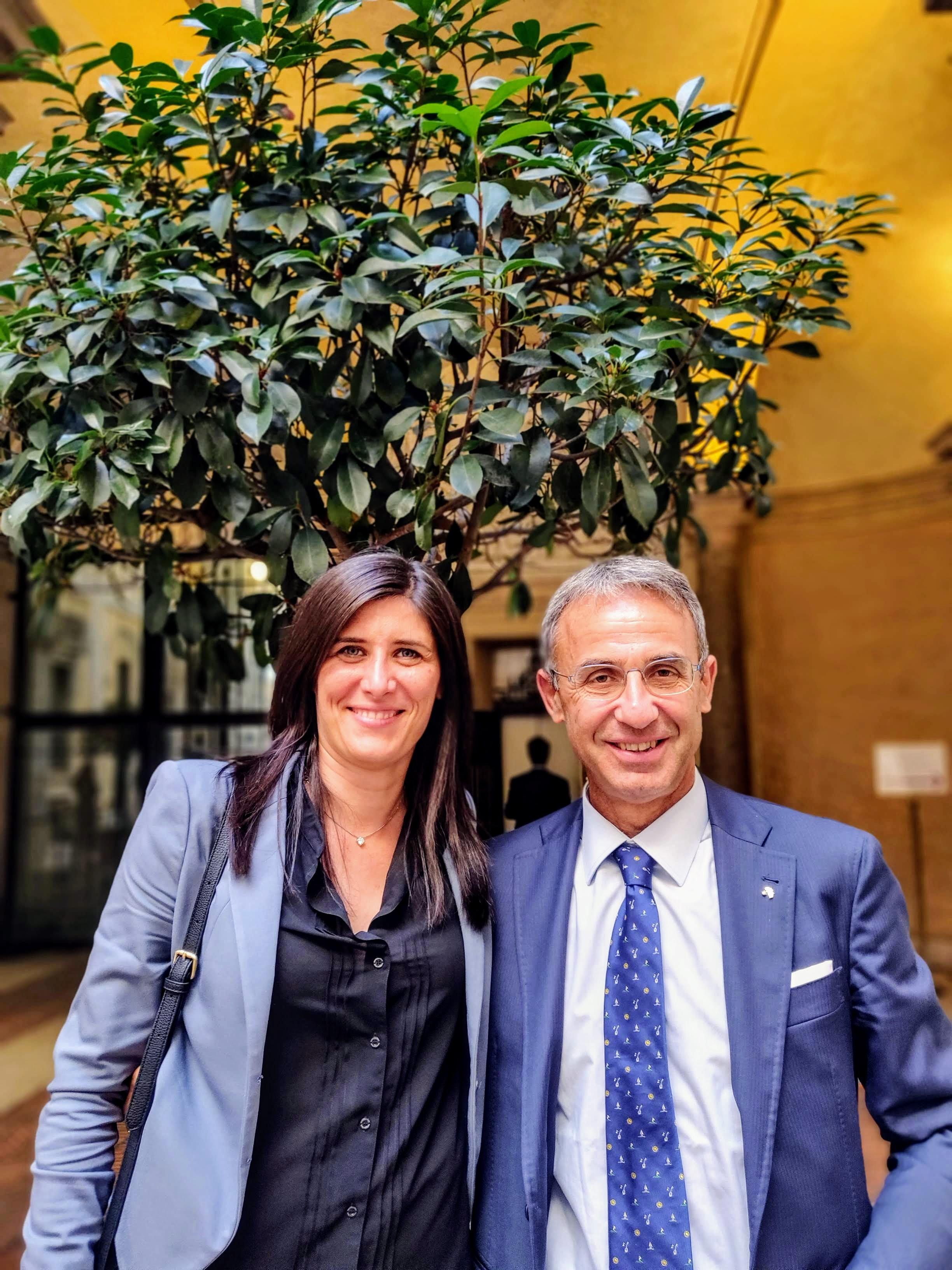 Chiara Appendino e Sergio Costa
